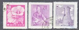 Korea 240-2    (o)    Wmk. 312  (2)  1957 Issue - Korea, South