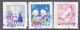 Korea 298-300     (o) - Korea, South