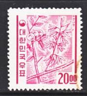 Korea 369   No  Granite Paper  (o)   1962-3  Issue - Korea, South