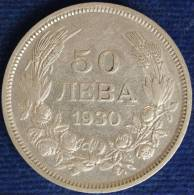 BULGARIA REGNO/KINGDOM 50 LEVA 1930 BP ARGENTO/SILVER #2650 - Bulgaria