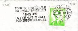 B-Bruxelles 1970. Foire Internationale Du Livre - Buch (3.265) - Belgium