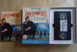 DANCES WITH WOLVES  - COFFRET VHS CASSETTES  K. COSTNER - Western/ Cowboy