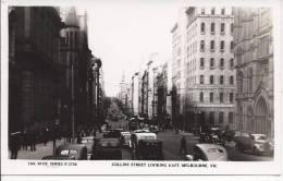 L 693 - Collins Street Looking East Melbourne - Melbourne