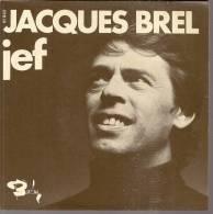 """45 Tours SP - JACQUES BREL  - BARCLAY 61842 -  """" JEF """" + 1 - Autres - Musique Française"""