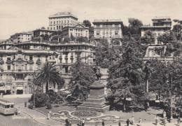 GENOVA- PIAZZA TOMMASO VG 1955  BELLA FOTO D´EPOCA ORIGINALE 100% - Genova (Genoa)