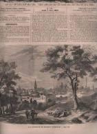 L´UNIVERS ILLUSTRE 07 06 1860 - BOLOGNE - COMEDIE REINE ELISABETH 1586 - VALAIS FRONTIERE SAVOIE SUISSE - 1850 - 1899