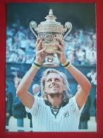 SPORTS - TENNIS - BJORN BORG - WIMBLEDONMASTARE1976 - 1980 - WIMBLEDON CHAMPION 1976 - 1980 - RARE - - Tennis