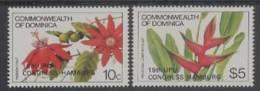 Dominica (1984) Yv. 806/07  /  Flores - Flowers - Fleurs - Blumen - Fiori - UPU - Planten