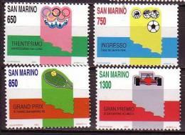 PGL - SAN MARINO SASSONE N°1258/61 ** - San Marino