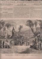 L´UNIVERS ILLUSTRE 19 07 1860 - SEMIRAMIS - DERVICHES TOURNEURS - IVAN LE TERRIBLE - TERNI OMBRIE - GASTON PHOEBUS FOIX - Journaux - Quotidiens