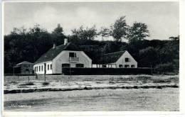 Helnaes, Hus, Helnaeshus, Fünen, Kleinen Belt, Ca. 1950 - Dänemark
