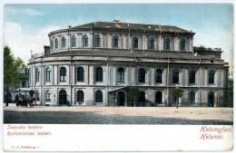 Helsinki, Helsingfors, Svenska Teatern, Ruotsalainen Teateri, Vor 1905 - Finnland