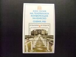BULGARIA  1985 YV 130**  BLOC  PALACIO NACIONAL DE LA CULTURA EN SOFIA - UNESCO