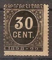 España Impuesto De Guerra 25 (*) Cifra 0.30 - Impuestos De Guerra