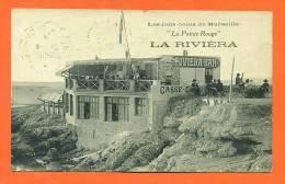 """Dpt  13  Marseille  """"  La Pointe Rouge - La Riviéra   """" Restaurant - Endoume, Roucas, Corniche, Plages"""