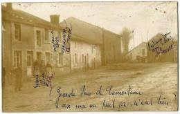 LAMORTEAU - Grand Rue - Photocarte 1920 - Rouvroy