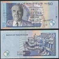 Mauritius P 50 B - 50 Rupees 2001 - UNC - Mauritius