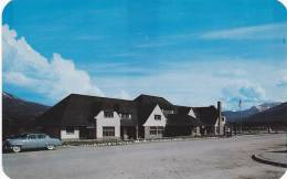 The Canadian National Railway Station At Jasper, Alberta, Canada, 1940-1960s - Jasper