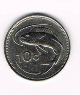 MALTA  10 CENTS 1986 - Malte (Ordre De)