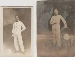 Shanghai.1908.  Camp De Kou Ka Za. Militaires Français. - Chine