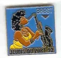 @@ Musique BREST Saxophone Les Jeudis Du Port 1992 @@mu24 - Music