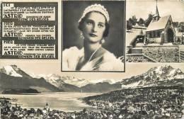 ETRAN 21   CPA  ASTRID  Princesse De Suède Reine Des Belges  Le 29 Aout 1933 Sur La Rive De Ce Lac Paisible S'est Brisée - Famous People