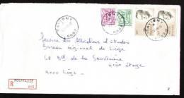 Recommandé - Halte Tavigny - 43A - PP Houffalize - Postmarks With Stars