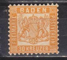 FAL - Germania Baden Yvert N. 21 - Baden