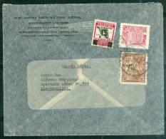 Lettre Decoré Par Zepellin , Affranchie De Bogota Pour Baranquilla ( Colombie ) En 1935  - Lh113453 - Colombia