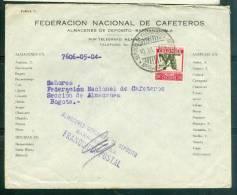 Lettre  De  Barranquila Pour Bogota En 1936, Par Avion - Lh113458 - Colombia