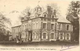 Carte Postale Ancienne De VIEFVILLE - France