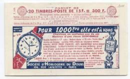 FRANCE CARNET N°1011 MULLER 15F ROUGE - CARNET 9 - SERIE 7.55 - GRAMMONT / BIC / GRAMMONT / BIC - Definitives