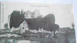 TALMONT RUINES DU VIEUX CHATEAU  410 X - Talmont Saint Hilaire