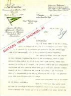 """Brief 1938 - ANTWERPEN - """"VULCAAN"""" - Agence Maritime, Affrêtements Maritimes, Rhénans Et Fluviaux - Unclassified"""