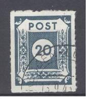 ALLIIERTE BESETZUNG - SOWJETISCHE ZONE (Ost-Sachsen) - Mi Nr 48 Ga - Gest./obl. - Cote 10,00 € - Zone Soviétique