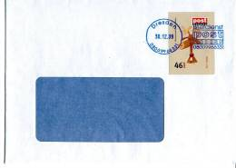 Post Modern Tür  5 Aus Dem Adventskalender 2008 Portogerecht Auf C6-Brief - [7] Federal Republic
