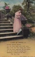 Bamforth A Gift Of Pansies 1912