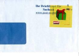 Post Modern Tür 17 Aus Dem Adventskalender 2008 Portogerecht Auf C5/6-Brief - [7] Federal Republic