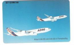 Germany - O362  11/92  Airbus A340-200 / A340 -300 - Flugzeug - Avion - Chip Card - Deutschland