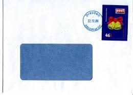 Post Modern Tür 20 Aus Dem Adventskalender 2008 Portogerecht Auf C6-Brief - [7] Federal Republic