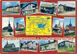 Eglises Et Maisons à Pans De Bois Du Der - Ceffonds Outines Lesmont Chavanges Lentilles - Unclassified