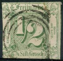 Allemagne Tour Et Taxi (1859) N 8 (o) 2ieme Choix - Tour Et Taxis