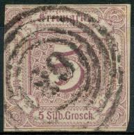 Allemagne Tour Et Taxi (1859) N 12 (o) 2ieme Choix - Tour Et Taxis