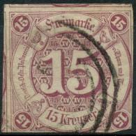 Allemagne Tour Et Taxi (1859) N 40 (o) 2ieme Choix - Tour Et Taxis