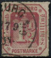 Allemagne Hambourg (1866) N 23 (o) - Hamburg