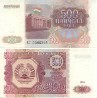 Tajikistan - 500 Rubl 1994 UNC - Tadjikistan