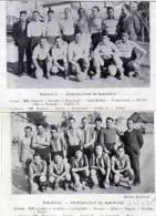 Coupure Journal Avec: Sporting Club De De Marseille Et Football-club De Martigues  (49057) - Autres