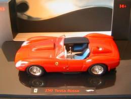 FERRARI 250 TESTA ROSSA 1958 HOTWHEELS ELITE N5593 1/43 ROSSO RED ROT ROUGE - Hot Wheels