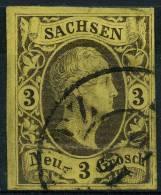 Allemagne Saxe  (1851) N 5 (o) - Saxe