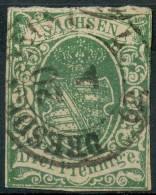 Allemagne Saxe  (1851) N 6 (o) - Saxe
